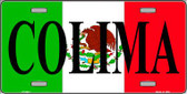 Colima Wholesale Metal Novelty License Plate LP-3441