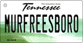 Murfreesboro Tennessee License Plate Wholesale Key Chain KC-6419