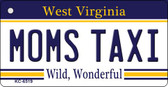 Moms Taxi West Virginia License Plate Wholesale Key Chain