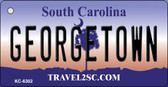 Georgetown South Carolina License Plate Wholesale Key Chain