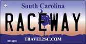 Raceway South Carolina License Plate Wholesale Key Chain