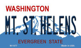 MT St Helens Washington State License Plate Wholesale Magnet M-1477