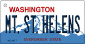 MT St Helens Washington State License Plate Wholesale Key Chain KC-1477