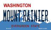 Mount Rainer Washington State License Plate Wholesale Magnet M-1478