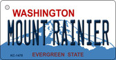 Mount Rainier Washington State License Plate Wholesale Key Chain KC-1478