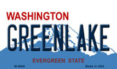 Greenlake Washington State License Plate Wholesale Magnet M-8668
