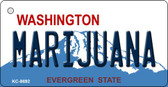 Marijuana Washington State License Plate Wholesale Key Chain KC-8692