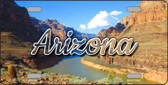 Arizona Canyon Wholesale State License Plate LP-11585