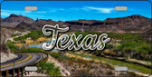 Texas City Lights Wholesale State License Plate LP-11633