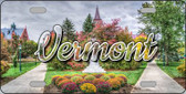 Vermont State Building Wholesale State License Plate LP-11635