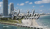 Florida White Sand Beach Wholesale Magnet M-11592