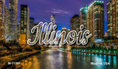 Illinois River City Lights Wholesale Magnet M-11597