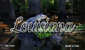 Louisiana Alligator Swamp Wholesale Magnet M-11603