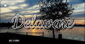 Delaware River Sunset Wholesale Key Chain KC-11591