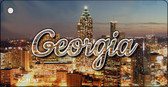 Georgia City Lights Wholesale Key Chain KC-11593