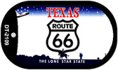 RT 66 Texas Novelty Wholesale Dog Tag Necklace DT-2109