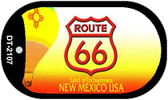 RT 66 New Mexico State License Plate Wholesale Dog Tag Necklace DT-2107