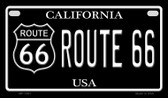 Route 66 California Novelty Wholesale Motorcycle License Plate MP-1481