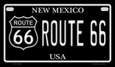 Route 66 New Mexico Novelty Wholesale Motorcycle License Plate MP-1482