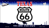 RT 66 Texas Novelty Wholesale Motorcycle License Plate MP-2109