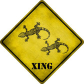 Gecko Xing Novelty Wholesale Crossing Sign