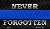 Never Forgotten Police Novelty Wholesale Magnet M-8530