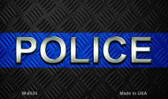 Police Novelty Wholesale Magnet M-8534