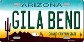 Gila Bend Novelty Wholesale Metal License Plate