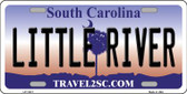Little River South Carolina Novelty Wholesale License Plate LP-11417