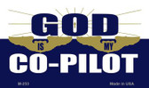 God Is My Pilot Novelty Wholesale Magnet M-253