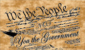 We The People Novelty Wholesale Magnet M-2335