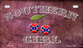 Southern Girl Novelty Wholesale Motorcycle License Plate MP-7964