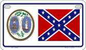 Confederate South Carolina Novelty Wholesale Motorcycle License Plate MP-10880