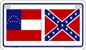 Confederate Robert E Lee Novelty Wholesale Motorcycle License Plate MP-10887