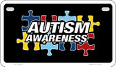 Autism Awareness Puzzle Novelty Wholesale Motorcycle License Plate MP-4669