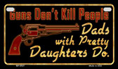 Guns Don't Kill People Wholesale Motorcycle License Plate MP-8527