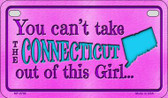 Connecticut Girl Wholesale Motorcycle License Plate MP-9798