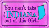 Indiana Girl Wholesale Motorcycle License Plate MP-9805