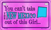 New Mexico Girl Wholesale Motorcycle License Plate MP-9822