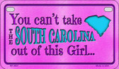 South Carolina Girl Wholesale Motorcycle License Plate MP-9831