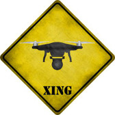 Drone Xing Novelty Wholesale Crossing Sign CX-310