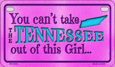 Tennessee Girl Wholesale Motorcycle License Plate MP-9833