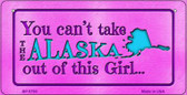 Alaska Girl Wholesale Bicycle License Plate BP-9793