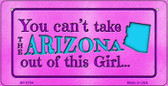 Arizona Girl Wholesale Bicycle License Plate BP-9794