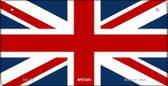Britain Flag Wholesale Novelty Bicycle Plate BP-507