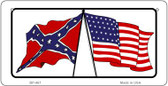 Confederate / USA Wholesale Novelty Bicycle Plate BP-467