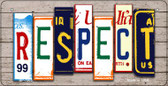 Respect Plate Art Wholesale Novelty Bicycle Plate BP-7905
