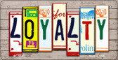 Loyalty Plate Art Wholesale Novelty Bicycle Plate BP-7906