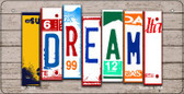 Dream Plate Art Wholesale Novelty Bicycle Plate BP-7939