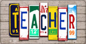 Teacher Plate Art Wholesale Novelty Bicycle Plate BP-7941